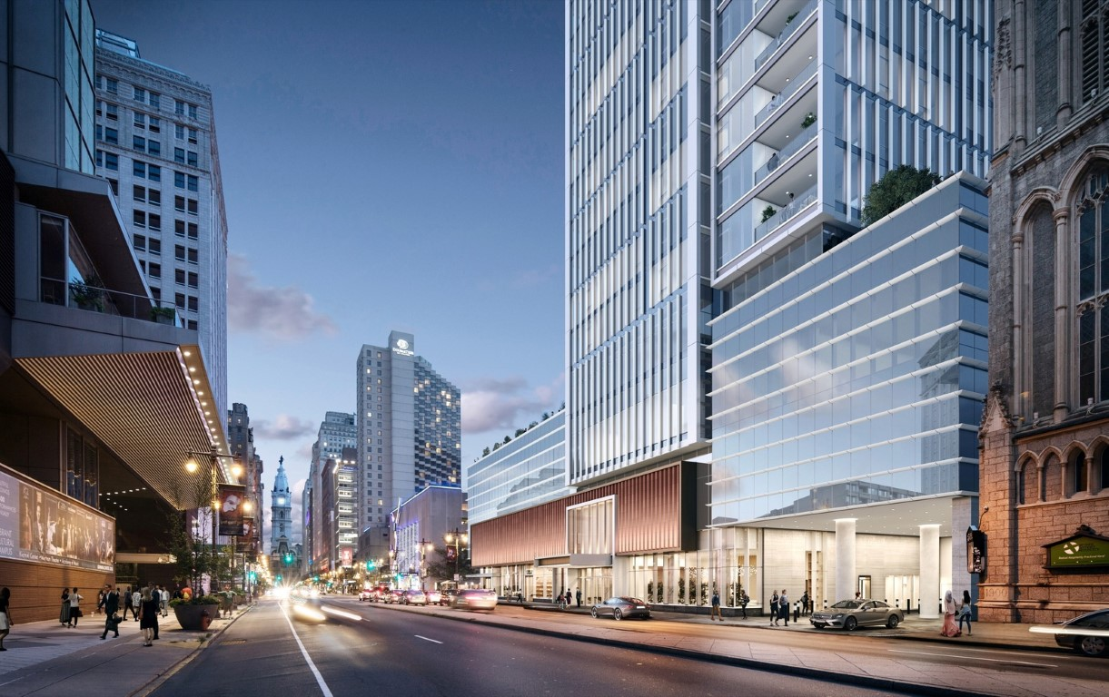 KPF Celebrates Groundbreaking of the Firm's First Residential Tower in Philadelphia_3