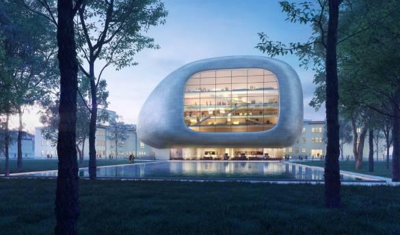 Steven Holl's Czech Concert Hall is an Instrument in its Case_1