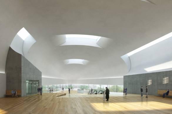 "Steven Holl's Czech Concert Hall is an ""Instrument in its Case"""