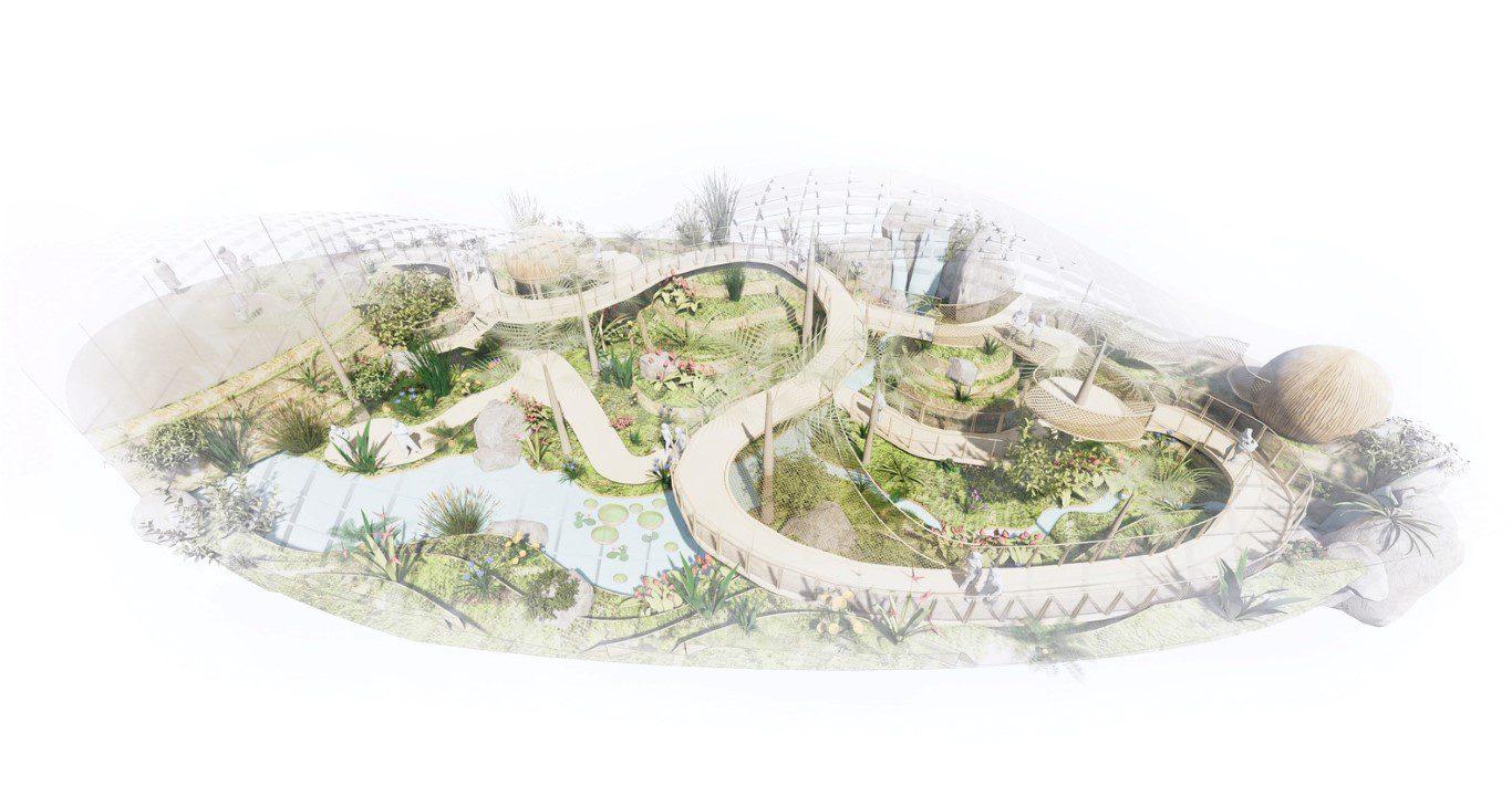 WilkinsonEyre Design Tropical Biodome in Iceland_4