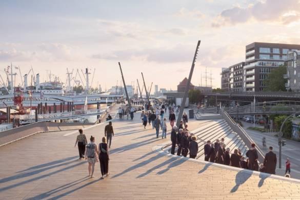 Niederhafen River Promenade   Zaha Hadid Architects