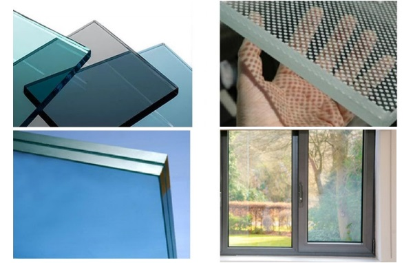 Figure 6: Tinted glass, ceramic fritting, laminated glass and insulating glass units all present a challenge for closed loop recycling of architectural glass