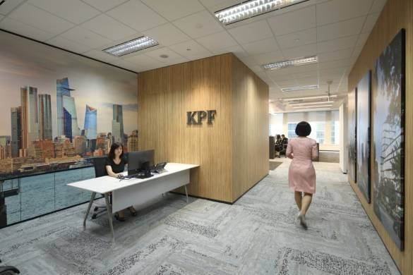 KPF Sinagpore Office. Image Courtesy of Frank Pinckers