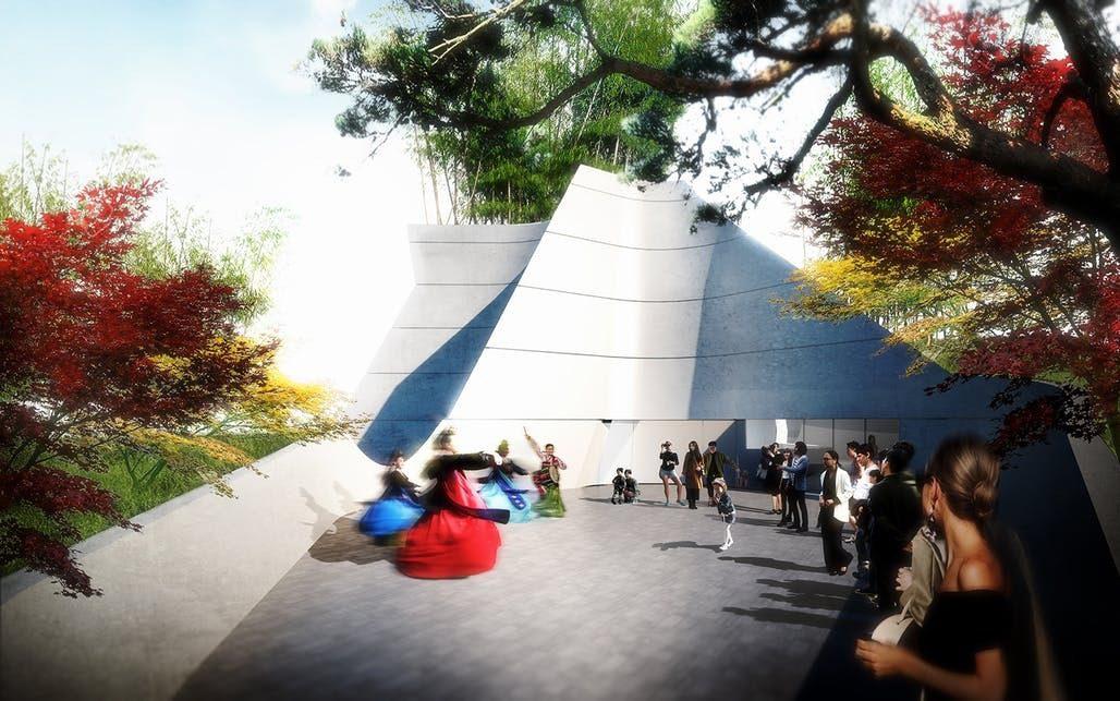 Morphosis Unveils New Korean American National Museum in Los Angeles_4