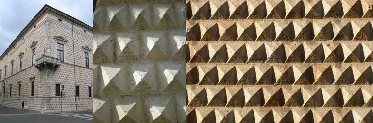 FIG: Palazzo dei Diamanti Ferrara Italy Architect: Biagio Rosseti 1503