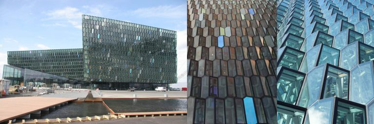 FIG: Harpa Reyjkavik Concert Hall, Iceland: Olafur Eliasson/Henning Larsen 2011