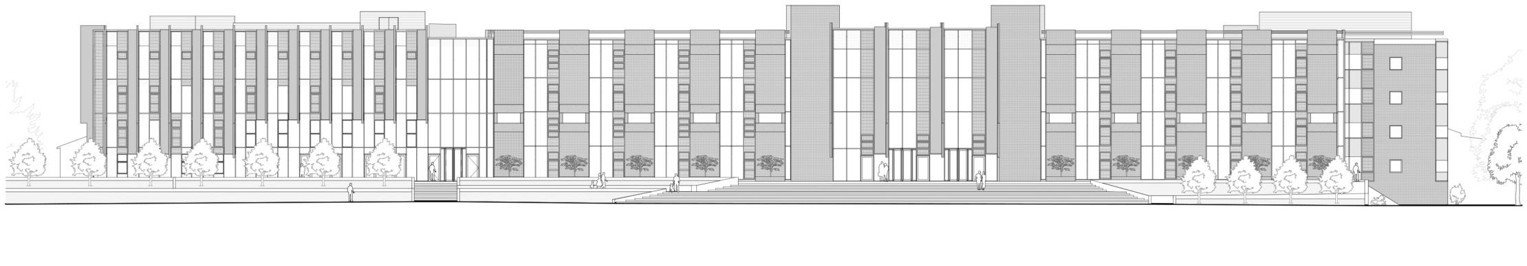 500-P-008 South Elevation _ Layout