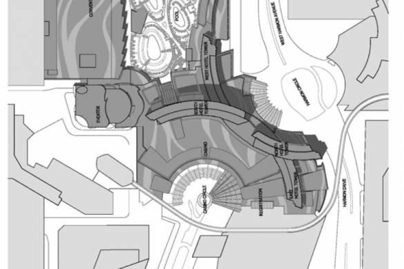 ARIA Resort and Casino | Pelli Clarke Pelli Architects