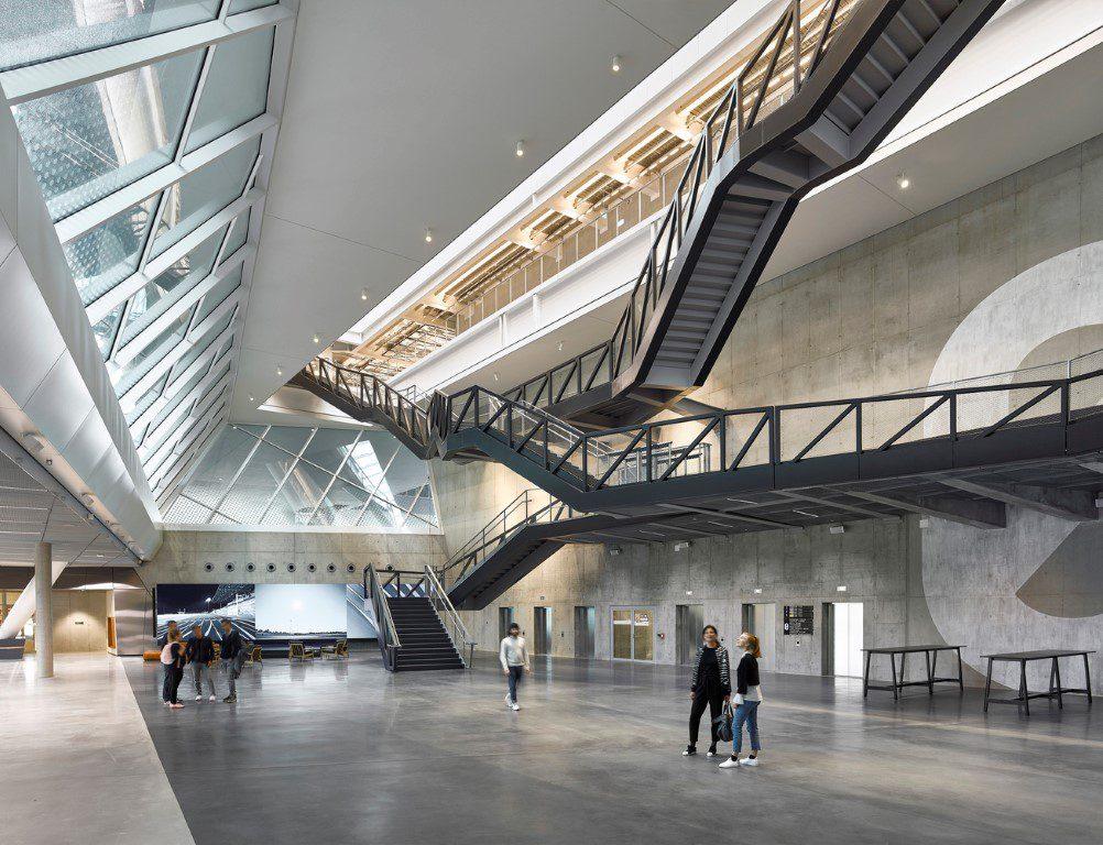 Adidas World of Sports Arena_Behnisch Architekten_12