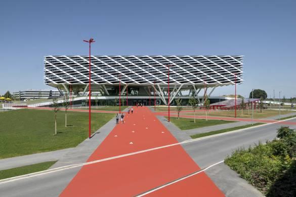 Adidas World of Sports Arena_Behnisch Architekten_16