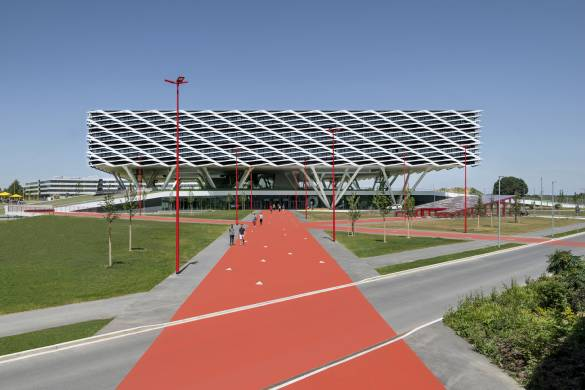 Adidas World of Sports Arena_Behnisch Architekten_4
