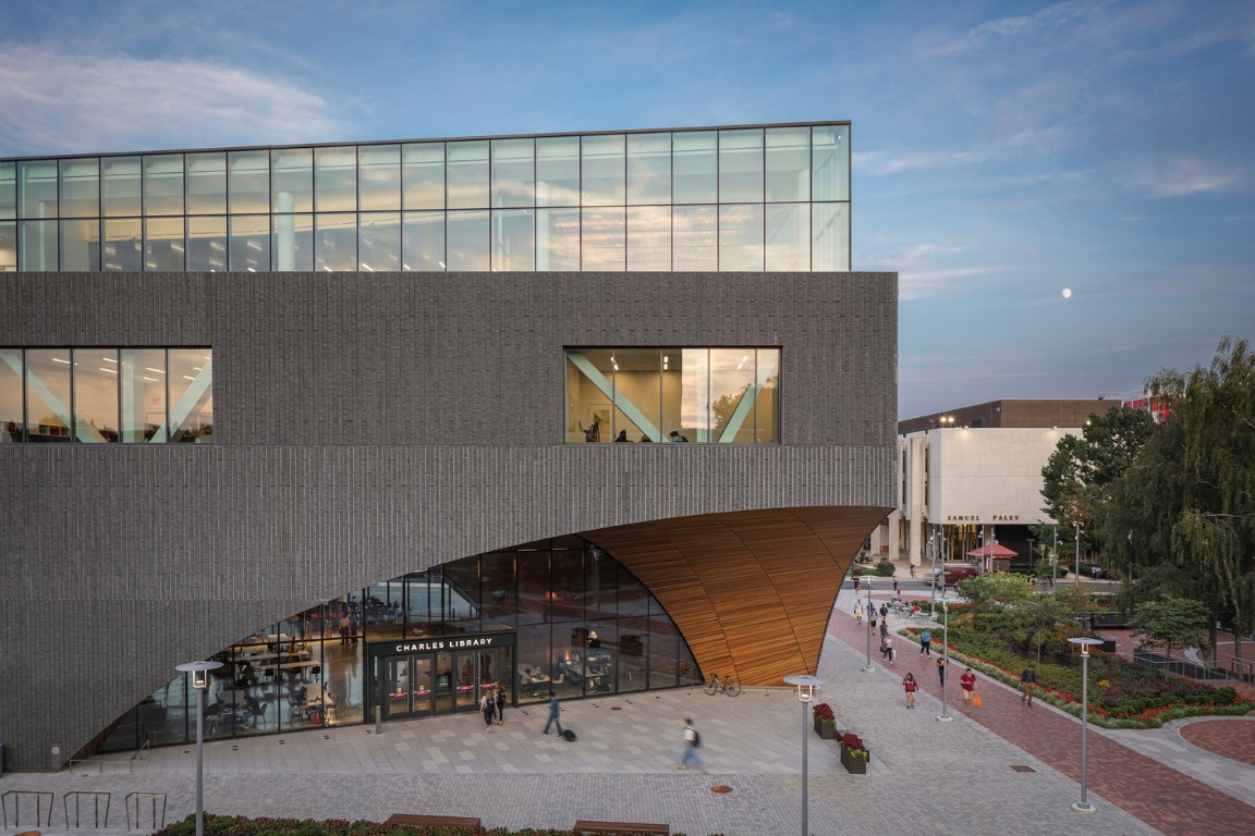 Charles Library at Temple University_Snøhetta_Projects_IGS Magazine_9