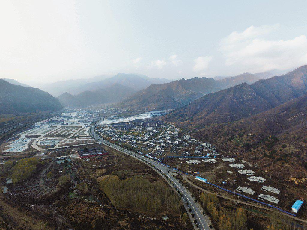 Aerial view. Image © Xiangdong Wang