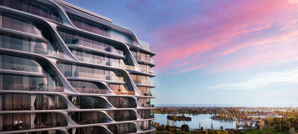 Mayfair Residential Tower | Melbourne | Australia | Side view | concept