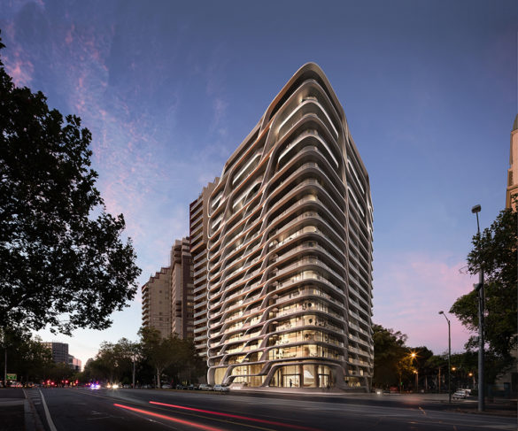 Mayfair Residential Tower | Melbourne | Australia | Exterior street view | concept
