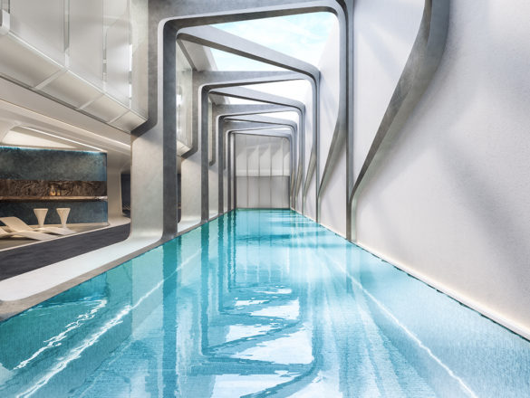 Mayfair Residential Tower | Melbourne | Australia | Indoor Pool | Architecture