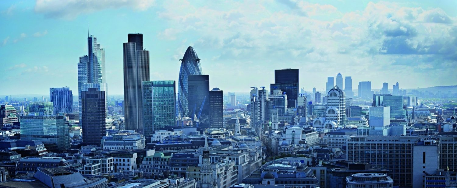 London Skyline | Glass Facade Buildings | Super Tall Buildings | Background for slider