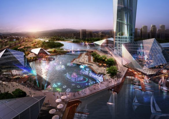 World's First Invisible Tower   Infinity Towers   GDS Architects   Korea   Concept Design   Lake   IGS Magazine