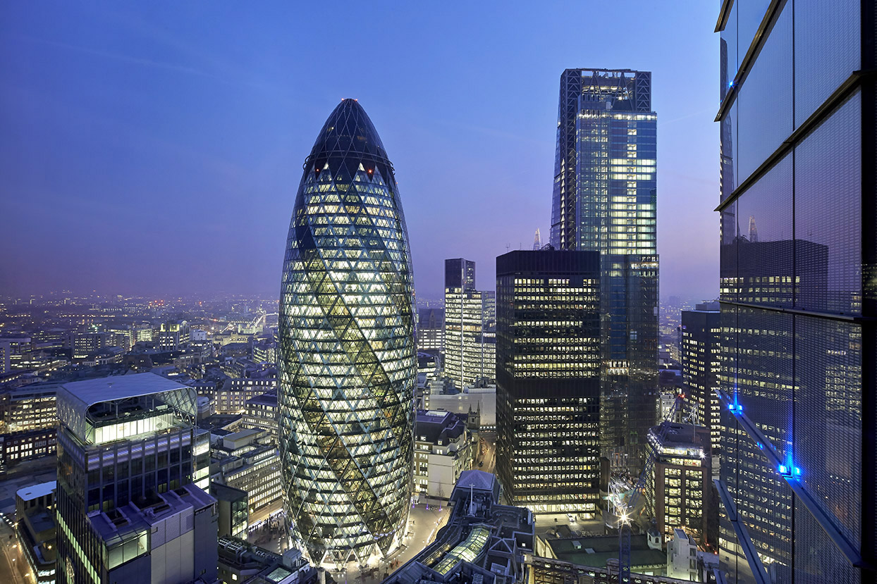 The Gherkin | London | Glass Facade | Complex Design | Engineering | IGS Mag