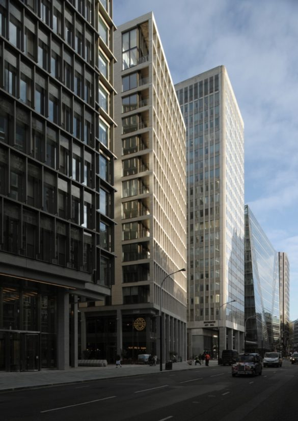 The Zig Zag Building   London   David Grandorge Photo   Tall Buildings in London   Office Space   Glass Design