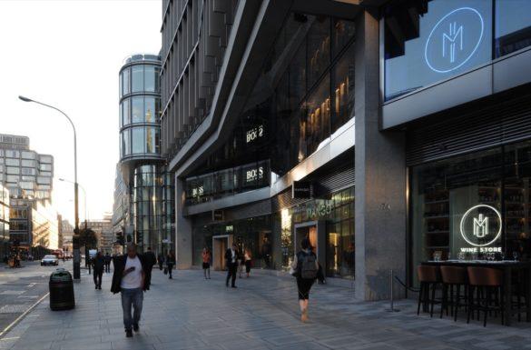 The Zig Zag Building   London   David Grandorge Photo   Entrance   retail frontages   IGS Magazine