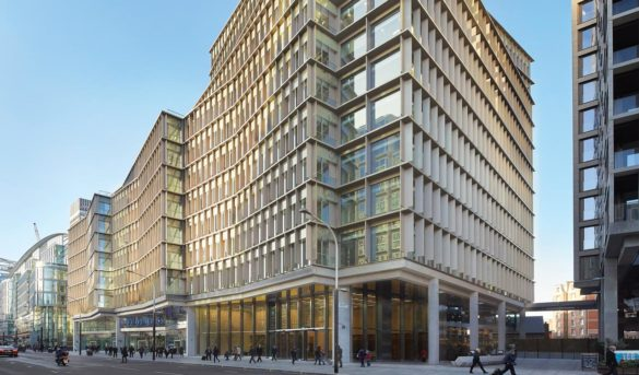 The Zig Zag Building   London   Exterior of Building   View from street   Glass Industry   IGS Mag