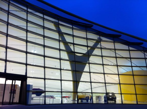 Enzo Ferrari Museum   Modena   simple geometry for the facade panels   Glass Facades   Intelligent Glass Solutions