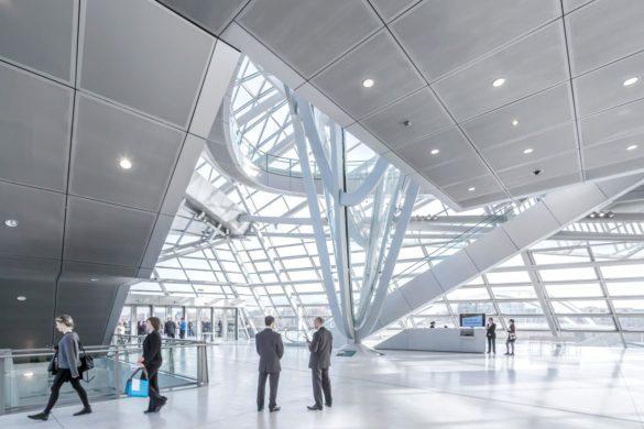 Musée des Confluences | Lyon | France | Gartner | Wolf D. Prix | elegant facade design | IGS Mag | Interior