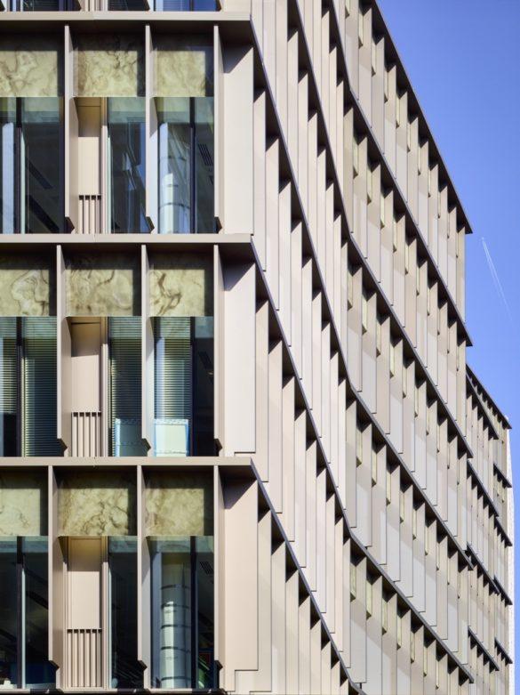 The Zig Zag Building   London   Tim Soar Photo   Lynch Architects   Land Securities   Low-iron glazing   printed PVB interlayer   onyx pattern