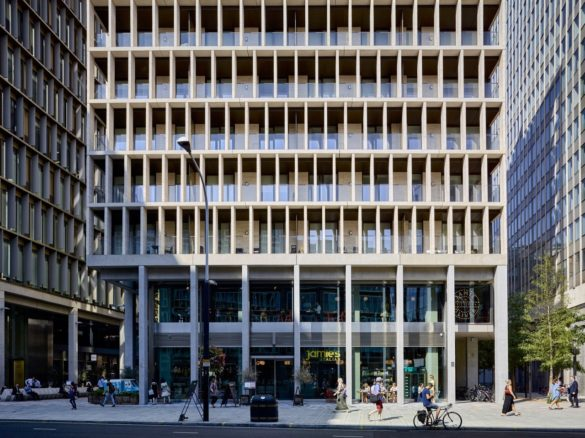 The Zig Zag Building   London   Tim Soar Photo   Lynch Architects   Land Securities   intermediate spaces   Openable Windows   natural light