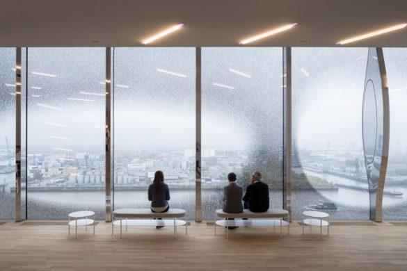 elbphilharmonie | Large Glass Panes | Hamburg | ipachrome design | AGC Interpane | Exterior View | Intelligent Glass Solutions | designed by Herzog & de Meuron