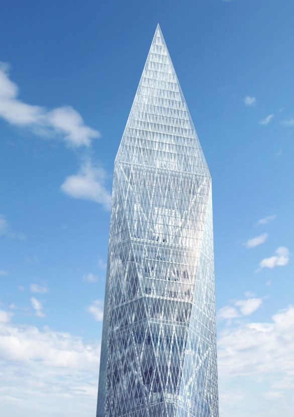 World's First Invisible Tower   Infinity Towers   GDS Architects   Korea   Top of Building   Super Tall Buildings   Cheongna City