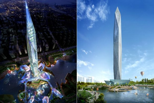 World's First Invisible Tower   Infinity Towers   GDS Architects   Korea   Day and Night Concept Design   Facade Concept   IGS Magazine
