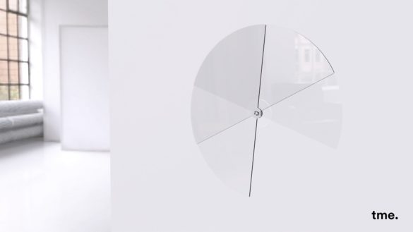 Glass Clock | Felix Stadie and Emanuel Etzersdorfer | Third Prize | Inspirations in Glass Competition