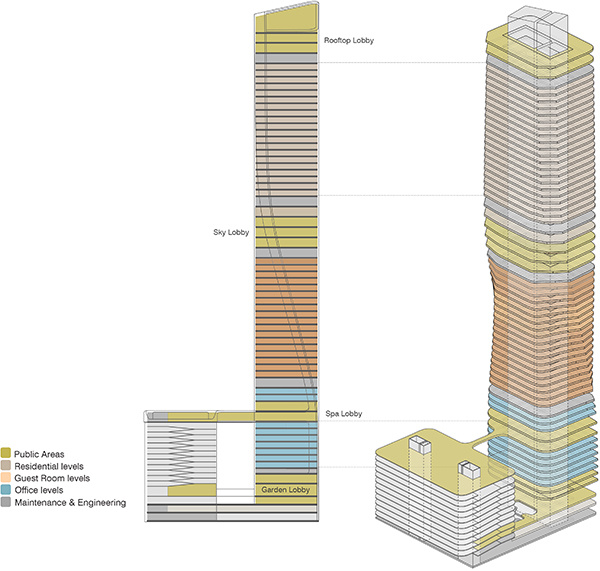 Wasl Tower | Dubai | Floor and Level Design | Press Release | IGS Mag