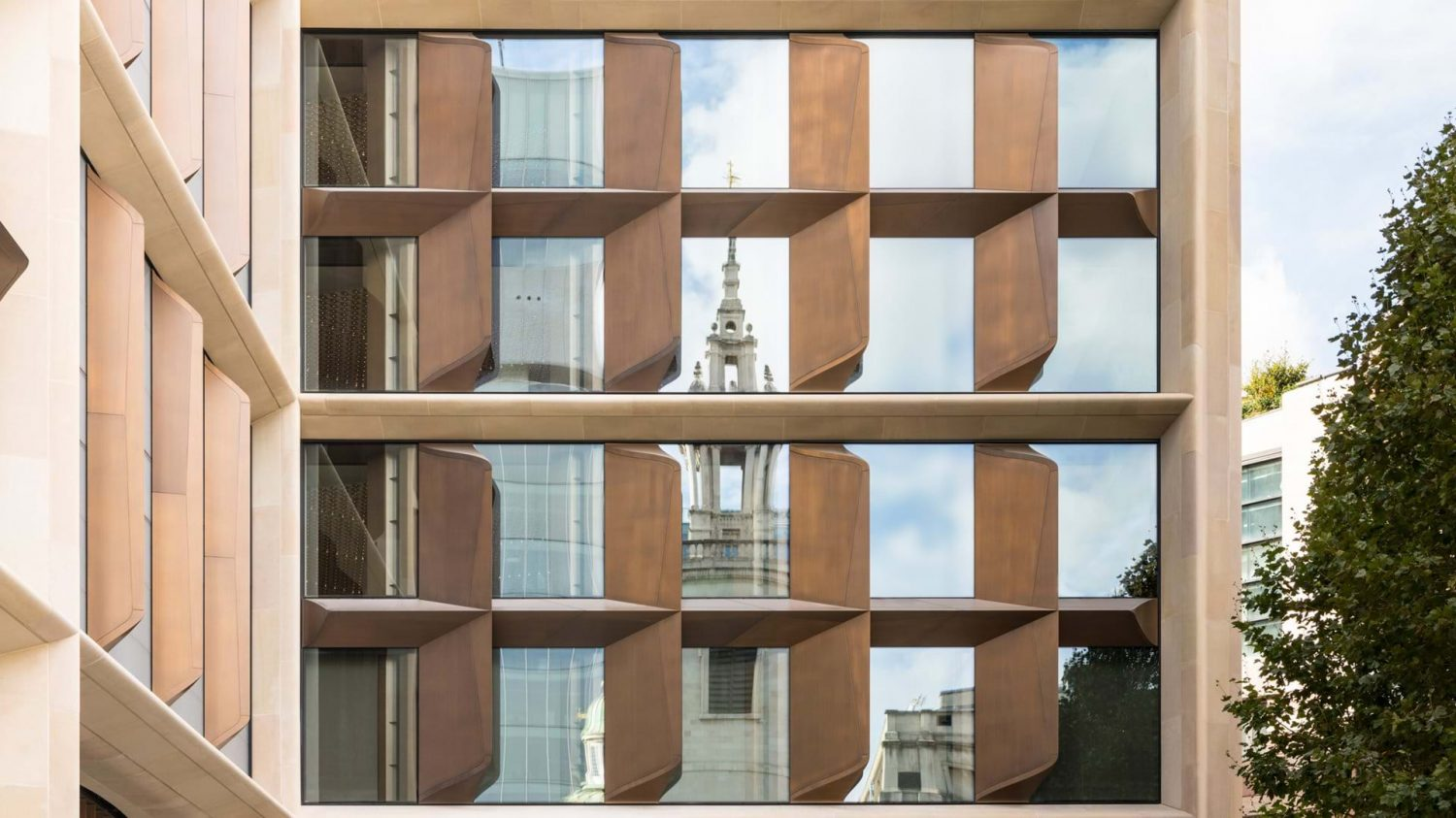 Foster + Partners | Bloomberg European Headquarters | London | Breathing Facade | Facade Architecture
