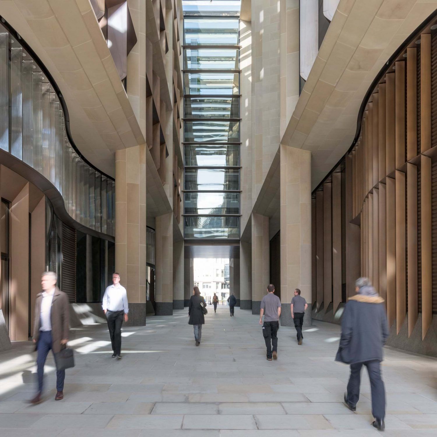 Foster + Partners | Bloomberg European Headquarters | London | Flowing Glass | Exterior