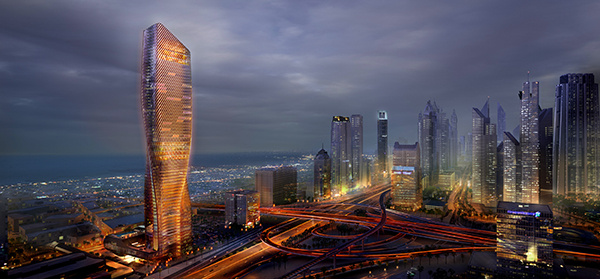 Wasl Tower | Dubai | Concept Design in City Skyline | Press Release | IGS Mag