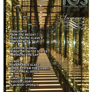 Summer 2016 Issue | IGS Magazine | Single Issue | Glass and Facade architecture