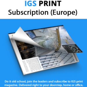 IGS Mag | Intelligent Glass Solutions | Subscription | Print Magazine | Europe