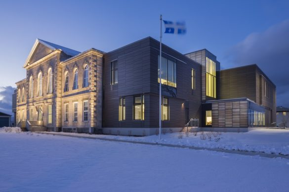 Montmagny Courthouse   Exterior   CCM2   Group A   Roy-Jacques Architects   Laurier Glass