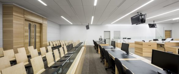 Montmagny Courthouse   Interior   CCM2   Group A   Roy-Jacques Architects   Laurier Glass