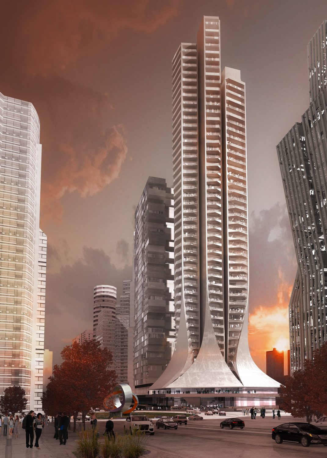 Zaha Hadid Architects | Bora Residential Tower | Mexico City | IGS Mag | Render | LabTop