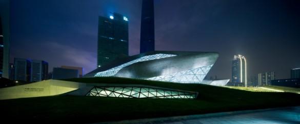 guangzhou opera house | exterior | Iwan Baan