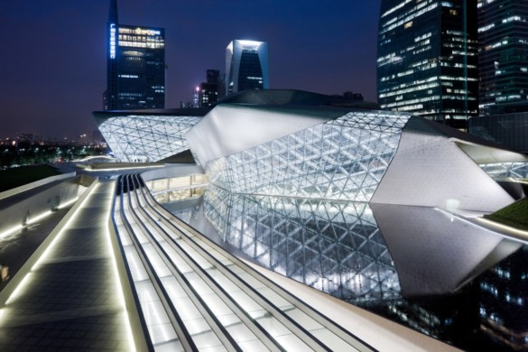 guangzhou opera house | exterior | Iwan Baan | Intelligent Glass Solutions | Projects | photography