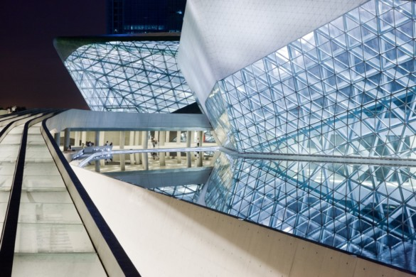 guangzhou opera house | exterior | Iwan Baan | Intelligent Glass Solutions | Projects