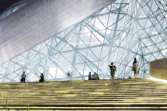 guangzhou opera house | exterior | Iwan Baan | IGS Mag | Glass | Facade