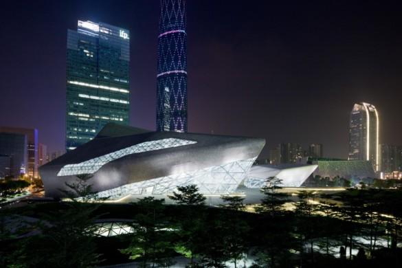guangzhou opera house | exterior | Iwan Baan | architecture | photography