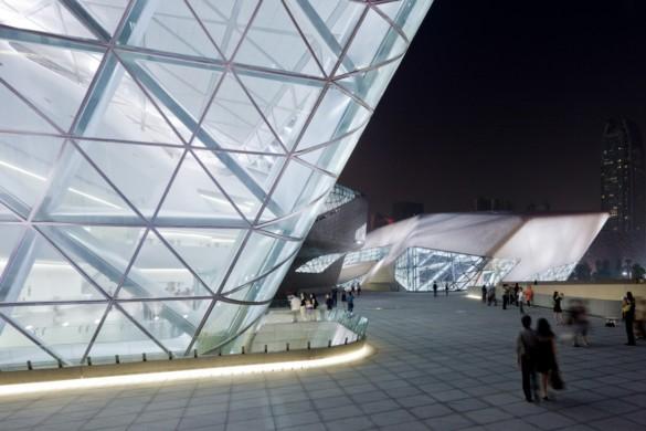 guangzhou opera house | exterior | Iwan Baan | IGS Magazine