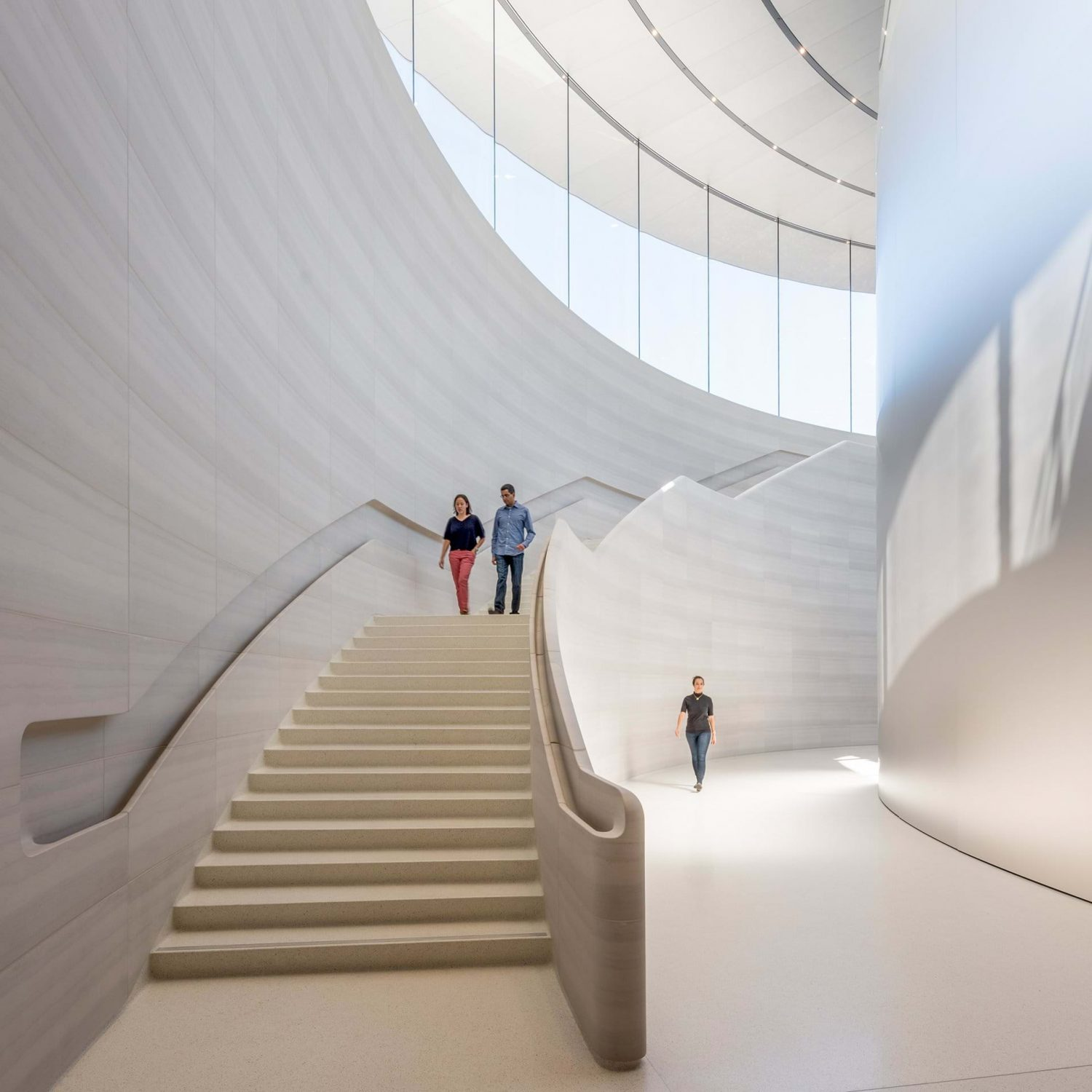 Steve Jobs Theater | Apple | Foster + Partners | Cupertino, USA | 2017 | staircase | projects